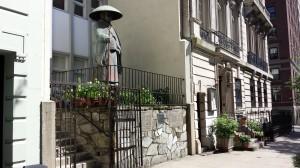 Entrance to Kokushi Budo Institute - Judo NYC
