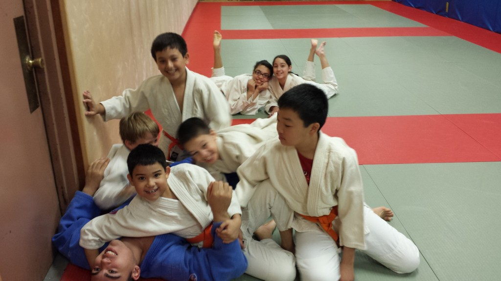 Judo pile up on tino at the kokushi budo institute