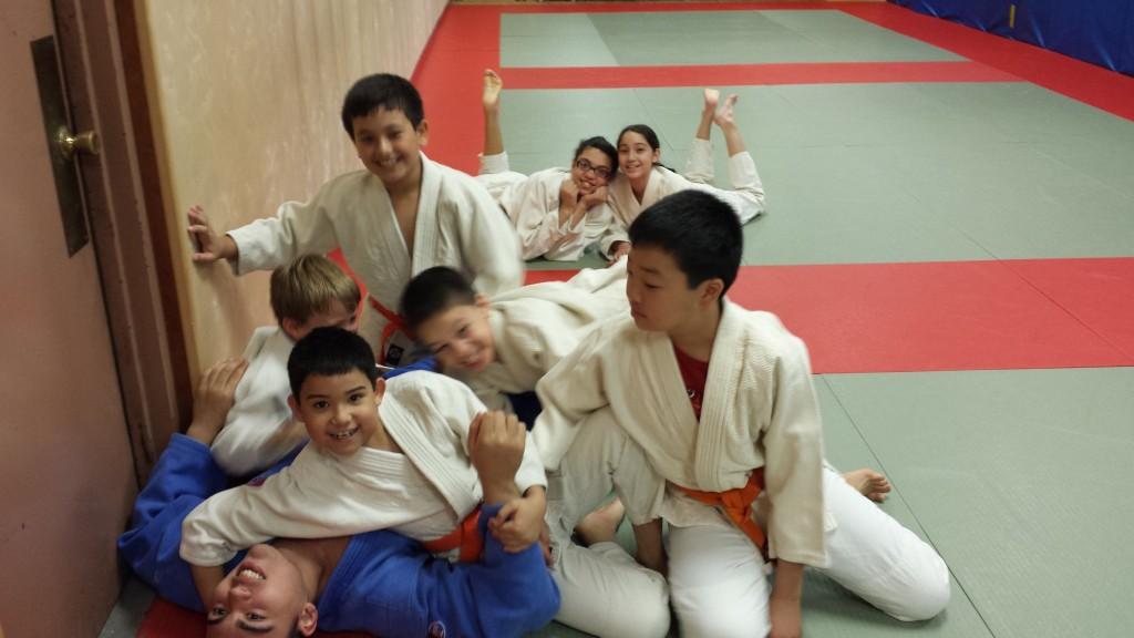 Judo pile up on tino at the kokushi budo institute