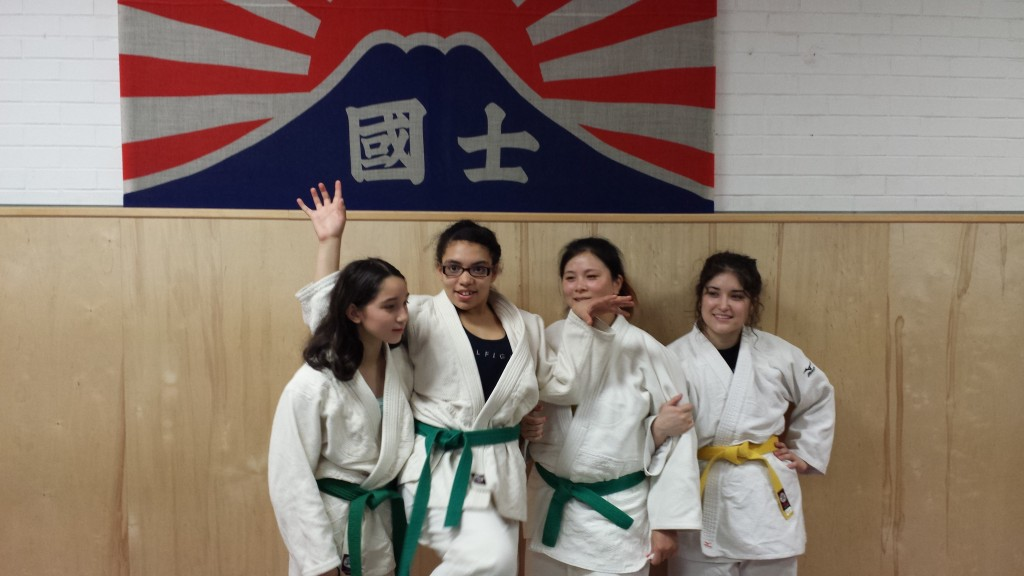 Judo girls NYC