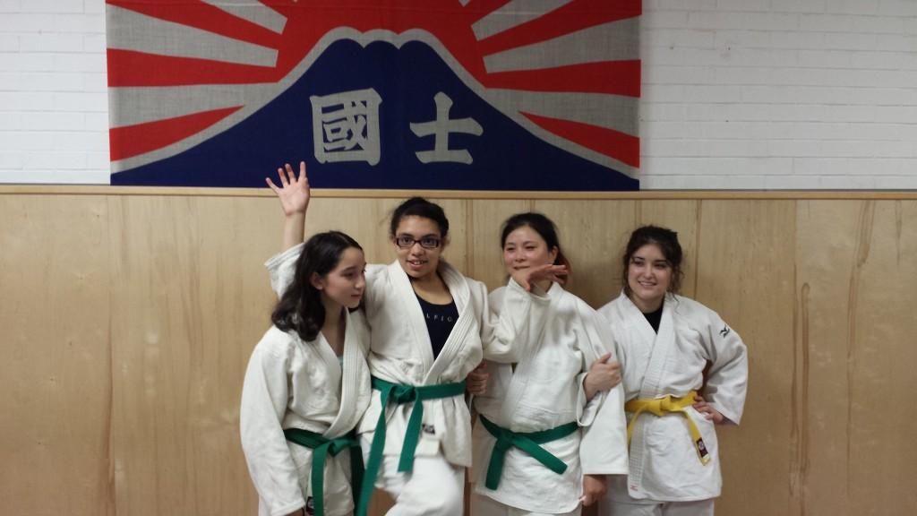 Judo girls NYC