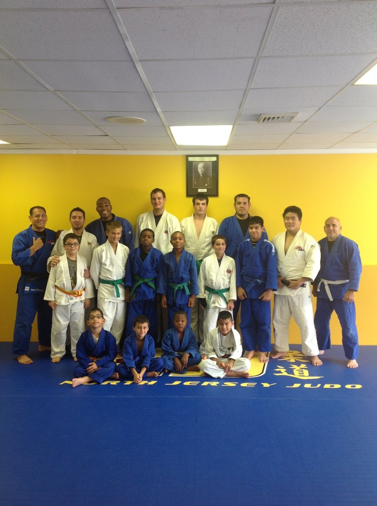 Judo clinic at North jersey judo
