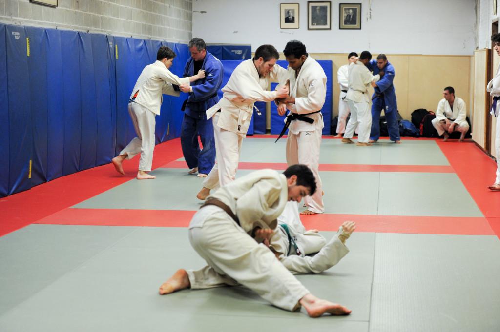 Judo workout