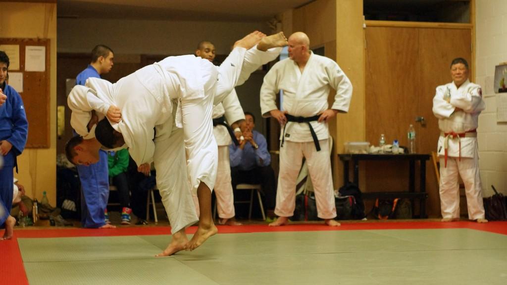 Uchimata KBI judo NYC
